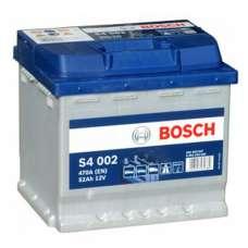 Автомобильный аккумулятор BOSCH (S4002) 52Ач