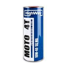 Highway 4T 10W-40 SG JASO MA полусинтетическое масло для 4-х тактных двигателей