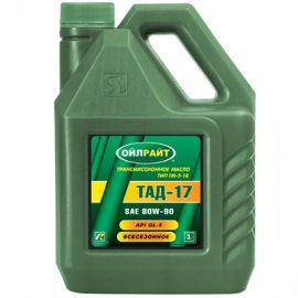 OILRIGHT ТАД-17 80W-90 GL-5 минеральное трансмиссионное масло
