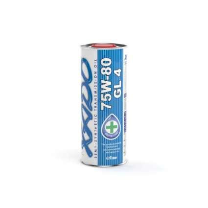 XADO Atomic Oil 75W-80 GL-4 полусинтетическое трансмиссионное масло (1л)