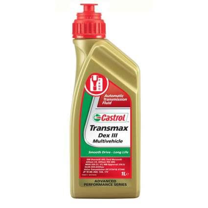 Castrol Transmax Dex III Multivehicle трансмиссионное масло