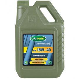 OILRIGHT МОЛИБДЕН 15W-40 SG/CD минеральное моторное масло