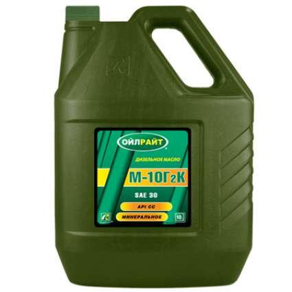 OILRIGHT М-10Г2К 30 CC минеральное моторное масло