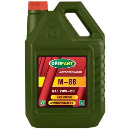 OILRIGHT М-8В 20W-20 СB/SD минеральное моторное масло