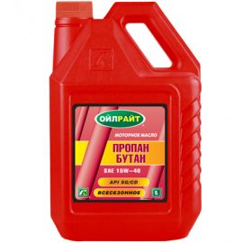 OILRIGHT ПРОПАН-БУТАН 15W-40 SG/CD минеральное моторное масло