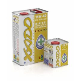XADO Atomic Oil 15W-40 CI-4 Diesel минеральное моторное масло (20л)