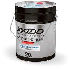 XADO Atomic Oil 15W-40 CG-4/SJ Silver минеральное моторное масло