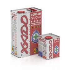 XADO Atomic Oil 20W-50 SL/CI-4 минеральное моторное масло