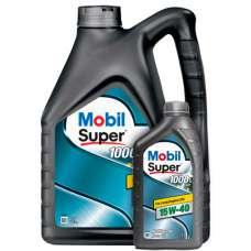 Mobil Super™ 1000 X1 15W-40 SL/CF минеральное моторное масло