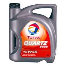 TOTAL QUARTZ 5000 15W-40 SL/CF минеральное моторное масло