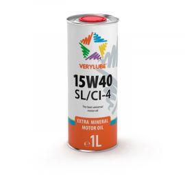 VERYLUBE 15W-40 SL/CI-4 минеральное моторное масло (1л)
