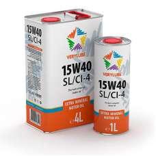 VERYLUBE 15W-40 SL/CI-4 минеральное моторное масло