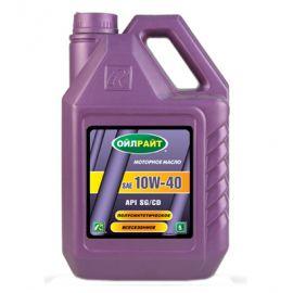 OILRIGHT 10W-40 SG/CD полусинтетическое моторное масло