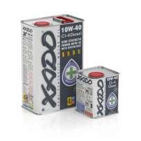 XADO Atomic Oil 10W-40 CI-4 Diesel полусинтетическое моторное масло (20л)