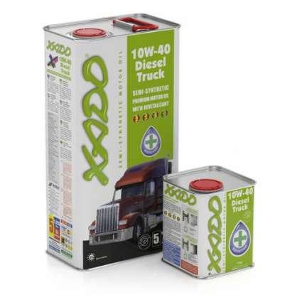 XADO Atomic Oil 10W-40 Diesel Truck полусинтетическое моторное масло (20л)
