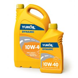 YUKOIL DYNAMIC 10W-40 SF/CC полусинтетическое моторное масло
