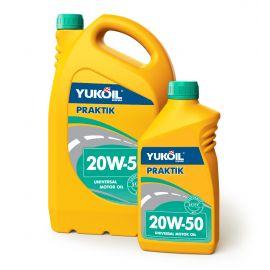 YUKOIL PRAKTIK 20W-50 SF/CC минеральное моторное масло