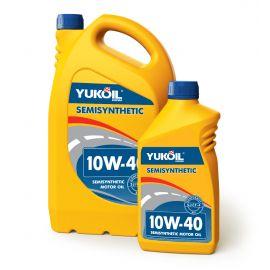 YUKOIL SEMISYNTHETIC 10W-40 SJ/CF-4 полусинтетическое моторное масло