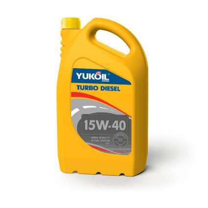 YUKOIL TURBO DIESEL 15W-40 CD минеральное моторное масло