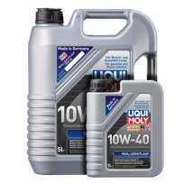 Liqui Moly MoS2 Leichtlauf 10W-40 SL/CF полусинтетическое моторное масло