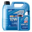 Liqui Moly Super Leichtlauf 10W-40 SL/CF полусинтетическое моторное масло