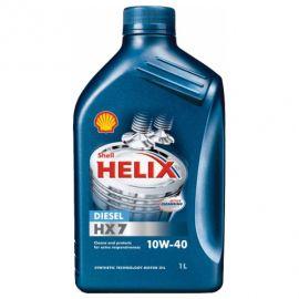 SHELL HELIX DIESEL HX7 10W-40 полусинтетическое моторное масло