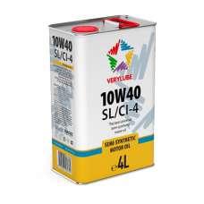 VERYLUBE 10W-40 SL/CI-4 полусинтетическое моторное масло (4л)