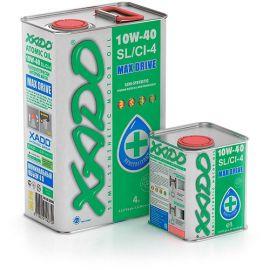 XADO Atomic Oil 10W-40 SL/CI-4 полусинтетическое моторное масло (20л)