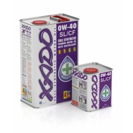 XADO Atomic Oil 0W-40 SL/CF синтетическое моторное масло (20л)