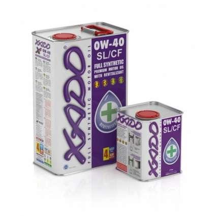 XADO Atomic Oil 0W-40 SL/CF синтетическое моторное масло (1л)