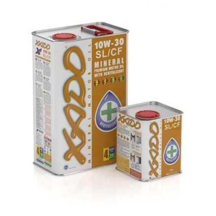 XADO Atomic Oil 10W-30 SL/CF минеральное моторное масло (20л)