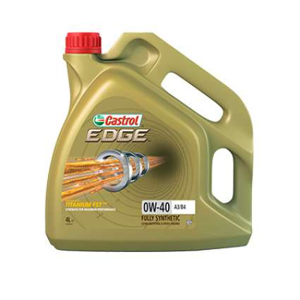 Castrol EDGE 0W-40 A3/B4 Titanium синтетическое моторное масло