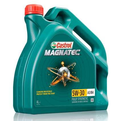 Castrol MAGNATEC 5W-30 A3/B4 синтетическое моторное масло