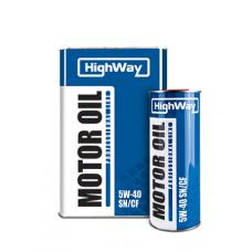 HighWay 5W-40 SN/CF синтетическое моторное масло