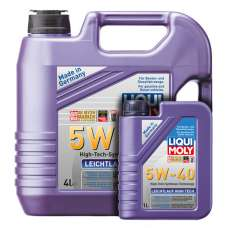 Liqui Moly Leichtlauf High Tech 5W-40 SN/CF синтетическое моторное масло