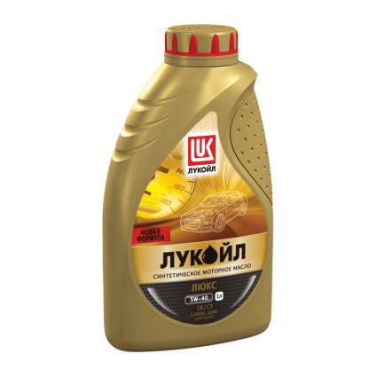 LUKOIL Luxe 5W-40 SN/CF синтетическое моторное масло
