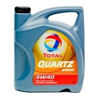 TOTAL QUARTZ 9000 5W-40 SN/CF синтетическое моторное масло