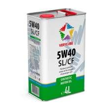 VERYLUBE 5W-40 SL/CF синтетическое моторное масло (4л)