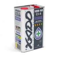 XADO Atomic Oil 10W-40 CI-4 Diesel полусинтетическое моторное масло (4л)