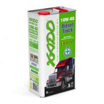 XADO Atomic Oil 10W-40 Diesel Truck полусинтетическое моторное масло (5л)