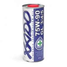 XADO Atomic Oil 75W-90 GL 3/4/5 синтетическое трансмиссионное масло (1л)