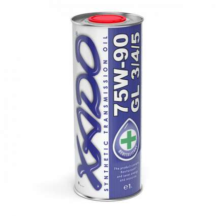 XADO Atomic Oil 75W-90 GL 3/4/5 синтетическое трансмиссионное масло (20л)