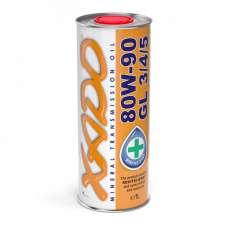 XADO Atomic Oil 80W-90 GL 3/4/5 минеральное трансмиссионное масло (1л)