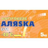 Аляska Antifreeze -40 Yellow G11