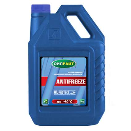 OILRIGHT ANTIFREEZE blue line