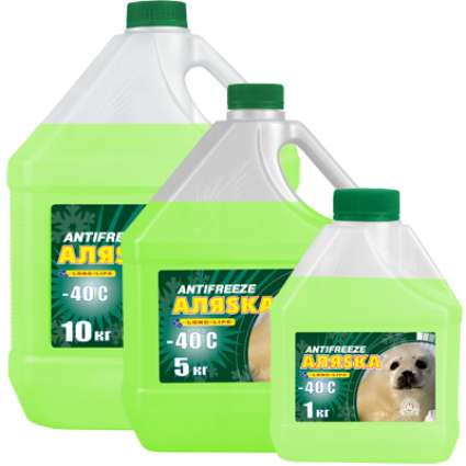 Аляska Antifreeze -40 Green G11