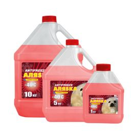 Аляska Antifreeze -40 Red G11