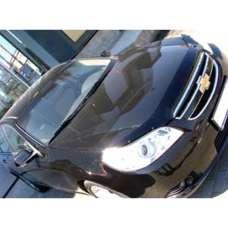 "SIM Chevrolet Epica '06- Дефлектор капота ""мухобойка"" (темный)"