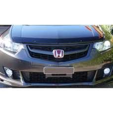 "SIM Honda Accord VIII '08-11 Дефлектор капота ""мухобойка"" (темный)"