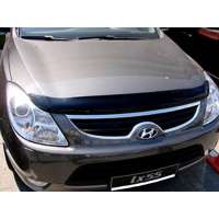 "SIM Hyundai ix55/Veracruz '07-12 Дефлектор капота ""мухобойка"" (темный)"